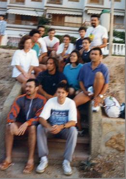 Grupo Primeras Travesía a Nado Tabarca Santa Pola