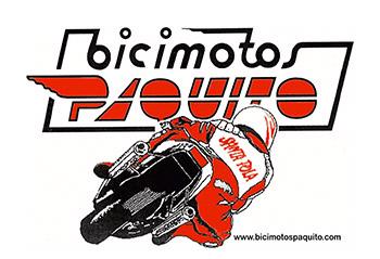 Logo Bicimotos Paquito Travesía a Nado Tabarca Santa Pola