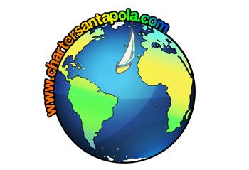 Logo Charter Santa Pola Travesía a Nado Tabarca Santa Pola