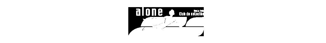 Logo Club Natación Alone Travesía a Nado Tabarca Santa Pola
